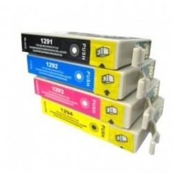 Black 15ml Compa per Epson SX420 525WD 620FW BX320-T12914010