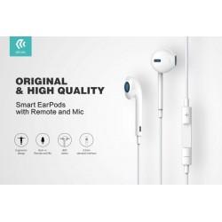 Auricolari con Mic e Controllo EarPods 1.2 mt Bianco