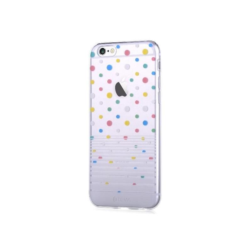 Custodia Vango soft Polka per iPhone 6S/6 Plus Bianca