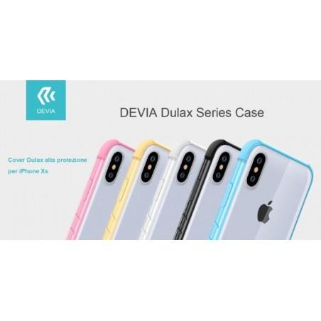 Cover Dulax alta protezione per iPhone Xs 5.8 Nera