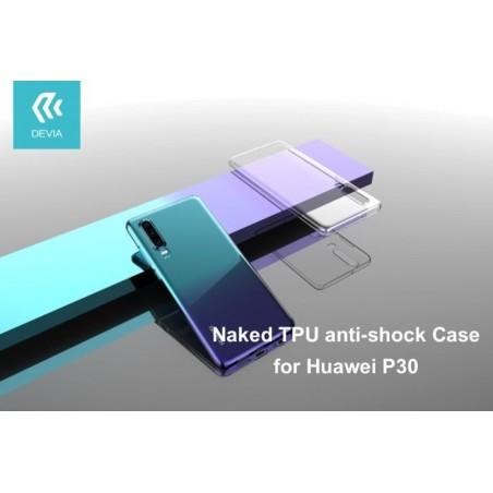 Cover in TPU Antishock per Huawei P30 Trasparente