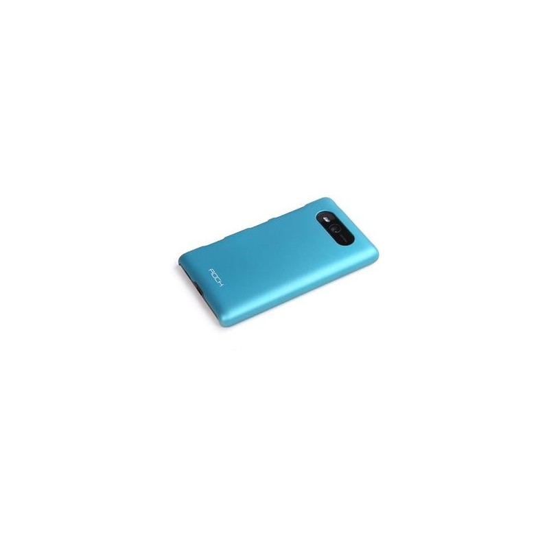 Cover Rock Naked Shell serie in Policarb Lumia 820 Blu