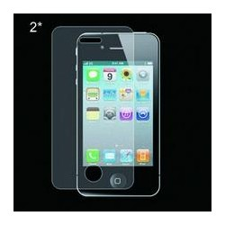 iPhone 4-4s 2x Screen Protection Opaca