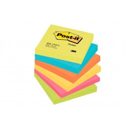 Foglietti Post-it® colori ENERGY- 6 blocchetti 76 mm x 76 mm