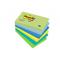 Foglietti Post-it® colori DREAM 6 blocchetti 76 mm x 127 mm