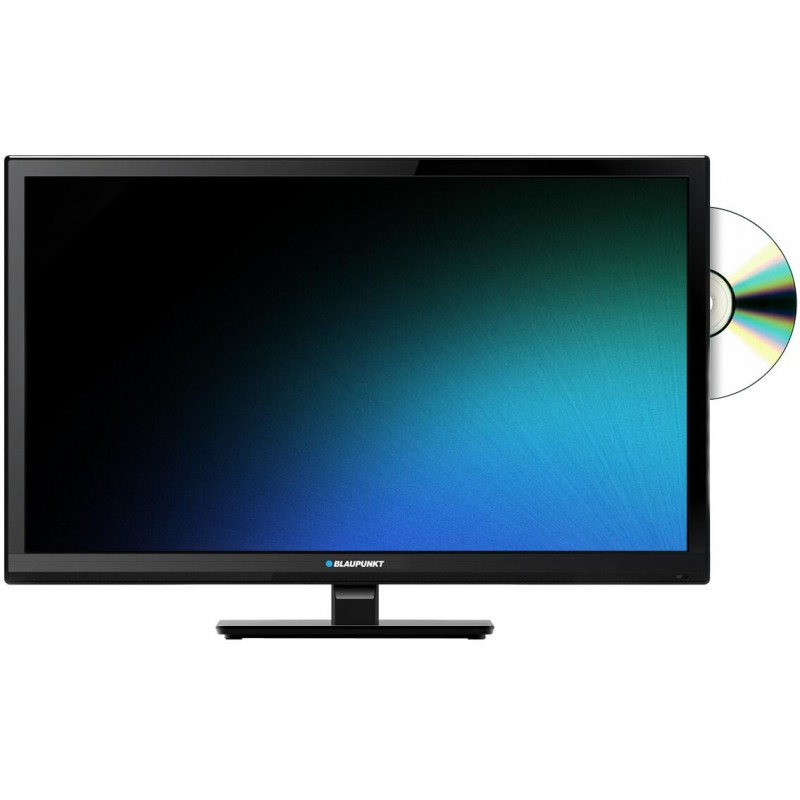 23,6'' LED HD TV 720p con DVB-T2 (H.265 Main 10), USB e DVD