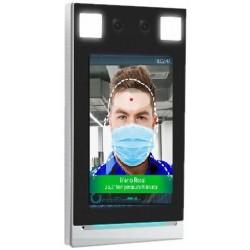 Terminale controllo accessi, sensore rilevamento temperatura