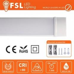 Plafoniera LED Lineare IP20 60cm 18W 1360LM 6500K