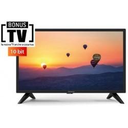 24'' LED TV a 12 Volts - 720p HD con DVB-T2 10 bit, EPG, USB