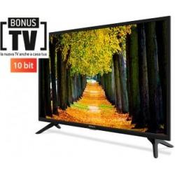 32'' LED TV - 720p con DVB-T2 10bits con USB e EPG