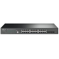 Managed L2+ 24 porte Gigabit 4 SFP+ 10GE Stack T1700G-28TQ