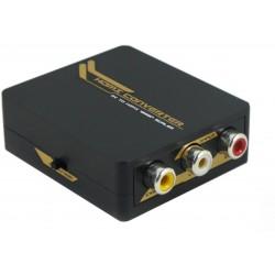 Mini Convertitore da AV (Cvbs) ad HDMI, scaler 720 - 1080p