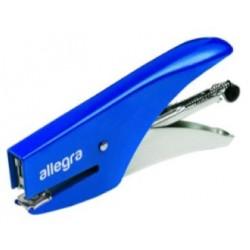 Cucitrice a pinza ALLEGRA - Blu - punto chiuso/aperto